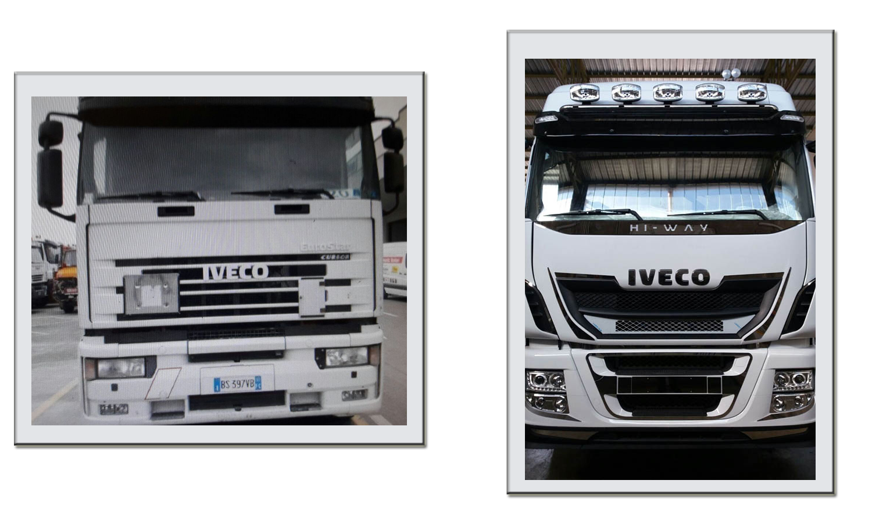 Ricambi veicoli industriali per modifica Iveco
